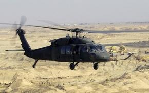 Picture machine, desert, UH-60, Black Hawk