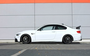Picture white, wall, BMW, BMW, wall, white, g-power, e92