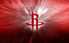 Picture Basketball, Background, Logo, Missiles, NBA, Houston Rockets, Houston
