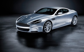 Wallpaper silver, Aston Martin, DBS