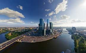 Picture river, Moscow, City