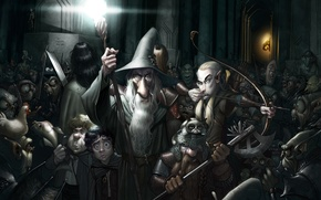 Picture The Lord of the Rings, Aragorn, Gandalf, Gimli, Legolas, Frodo Baggins, Samwise Gamgee