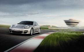Wallpaper speed, Porsche, Panamera