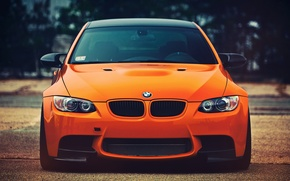 Picture look, BMW, orange