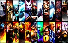 Picture heroes, dota 2, gallery, crimson