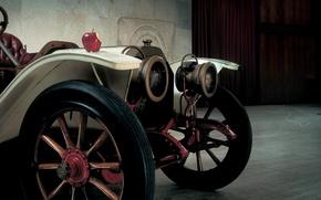 Picture retro, Apple, twilight, the front, Lancia, Beta, 1909, 15HP, Beta, Torpedo, Lancia