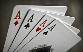 Wallpaper macro, game, letters, aces, card, suit, the suit, signs, characters