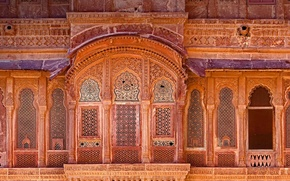 Wallpaper India, fortress, facade, Mehrangarh, Jodhpur