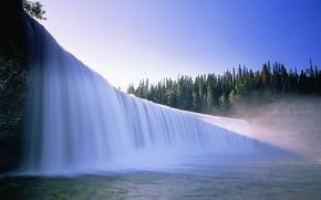 Picture water, nature, waterfall