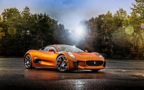 Picture Jaguar, range, Jaguar, supercar, C-X75, 007 Spectre