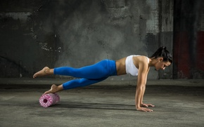 Picture workout, fitness, sportswear
