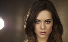 Picture face, actress, brunette, green eyes, Lyndsy Fonseca, Lyndsey Fonseca