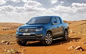 Picture Volkswagen, pickup, Volkswagen, Amarok, Amarok