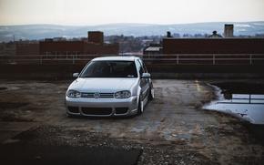Picture Golf, R32, Golf, front, Volkswagen, VolksWagen, Mk4