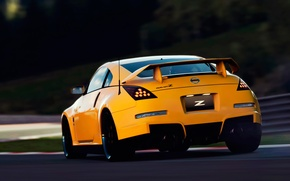 Picture track, Nissan, 350z, Fairlady-Z