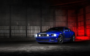 Picture car, auto, Ford, ford mustang, muscle car, the front