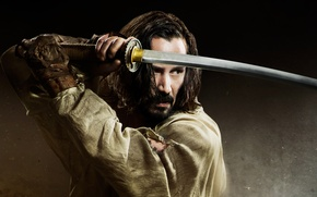 Picture Action, Warrior, The, Ninja, Keanu Reeves, Weapons, Weapon, 2013, Jam, Man, Movie, Sword, Film, Adventure, ...