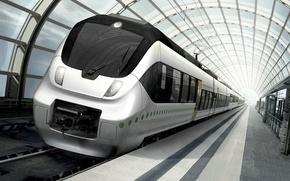Picture train, metro, subway