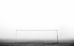 Picture fog, sport, gate
