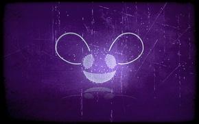 Picture Music, Eyes, Background, Purple, Deadmau5, Deadmaus