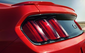 Picture Mustang, Ford, 2015, RedLight