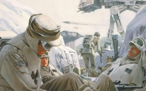 Picture soldiers, star wars, star wars, AT-AT, war. figure