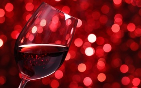 Wallpaper lights, bokeh, glass, glass, wine, red