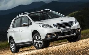 Wallpaper SUV, 2015, 2008, BR-spec, Peugeot, Peugeot