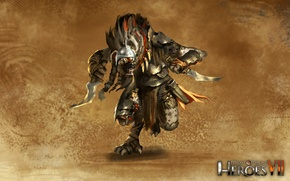 Picture Might & Magic 7, Heroes of might and magic 7, Rebellious tribes, Gnoll hunter, Daggers