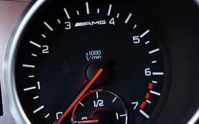 Picture Mercedes, AMG, Tachometer