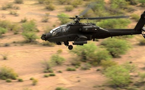 Picture Apache, Douglas, McDonnell, AH-64, the main attack helicopter of the US Army, Royal Netherlands air …