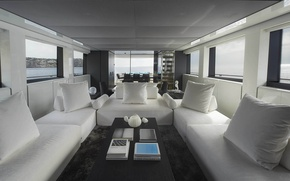 Picture view, luxury, yacht, salon, motor, Sanlorenzo, SL118