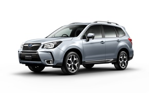 Wallpaper Forester, Subaru, white background, Subaru, Forester