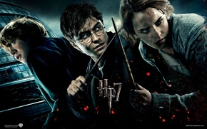 Picture Harry Potter, Emma Watson, Harry Potter, Harry Potter and the Deathly Hallows, Ron Weasley, Hermione …