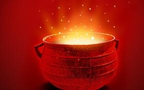 Wallpaper red, bowler, energy