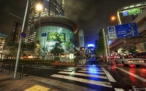 Wallpaper Japan, Japan, Approaching Roppoingi on Foot