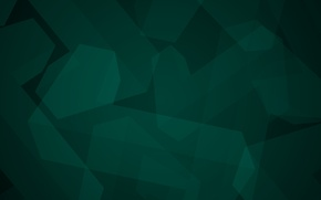 Wallpaper dark green, minimalism, geometry, Abstraction, figure