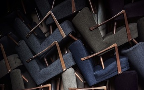 Picture background, macro, chairs