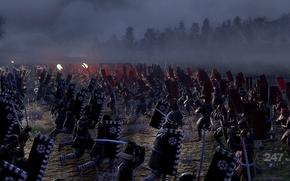 Picture war, battle, samurai, Total war