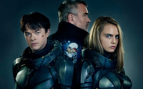 Picture cinema, girl, man, boy, sci-fi, movie, series, film, armour, oppai, scar, Cara Delevingne, TV series, ...