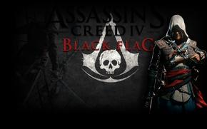 Picture sword, Edward, blade, Guns, Assassins creed 4 black flag
