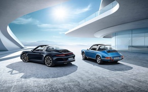 Picture car, car, Porsche, classic, porsche 911 targa s