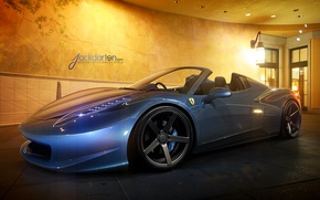 Picture machine, Ferrari, Jackdarton, Italia spyder