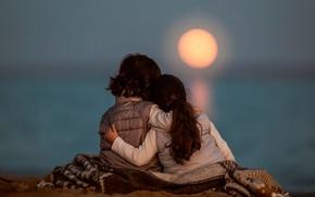 Picture the moon, Moonrise Stillness, children