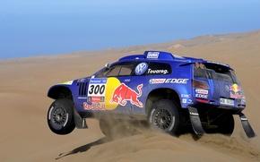 Picture Auto, Blue, Volkswagen, Desert, Machine, Race, Touareg, 308, Rally, Dakar, SUV, Rally
