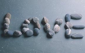 Wallpaper love, pebbles, stones, mood, love, feeling