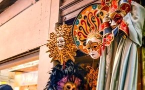 Picture mask, Venice, Italy, italy, venice, venice