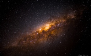 Picture the sky, stars, night, the milky way