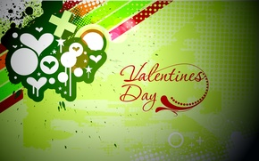 Wallpaper love, style, paint, vector, Valentine's day, Valentine's day, Urban style