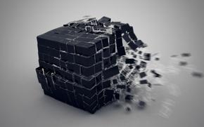 Picture design, many, Rubik, volume